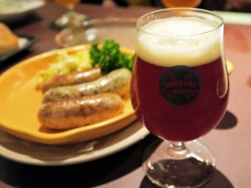 横浜ではクラフトビールが楽しめるレストランやバーがいろいろ。画像は「横浜ビールアルト」