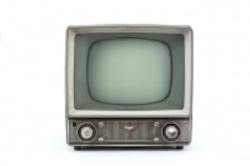 昭和世代の白黒テレビ