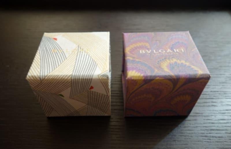 パピーロ紙を使ったボックスがパープルの方のセット