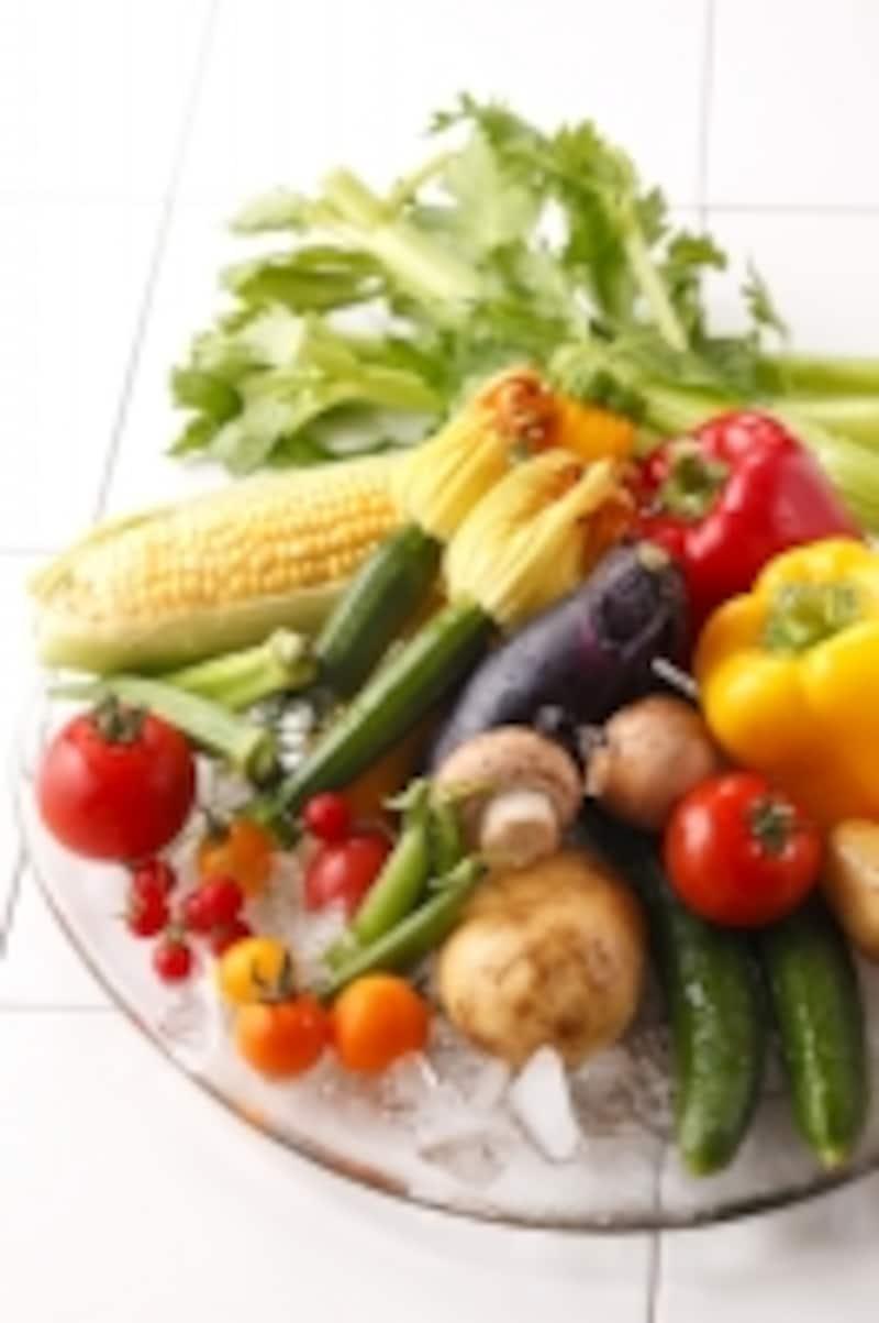 野菜,栄養素,有効成分,ヘルスケア,酵素,ローフード,生食,加熱,破砕,カロテノイド,リコペン,吸収