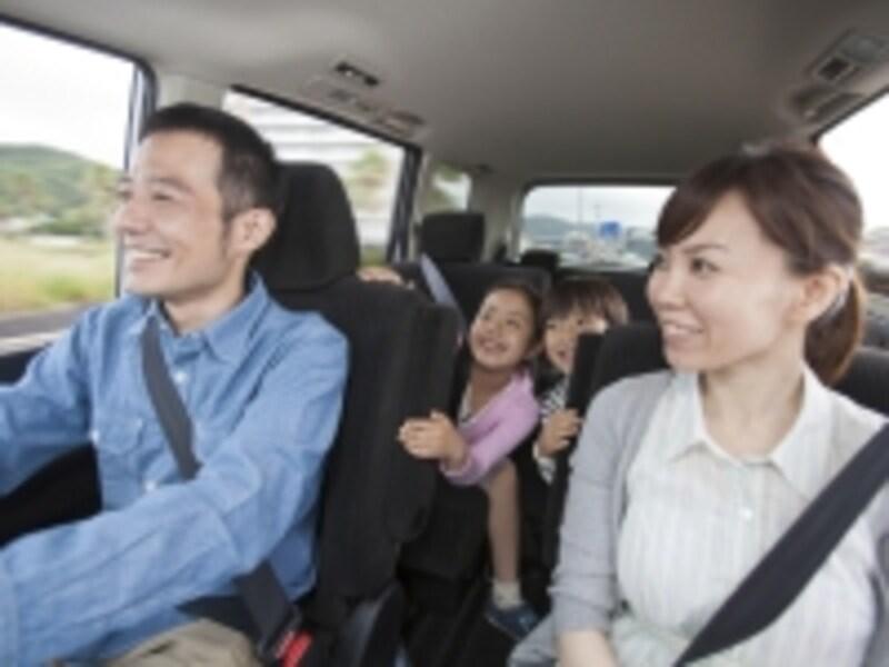 家族でドライブ