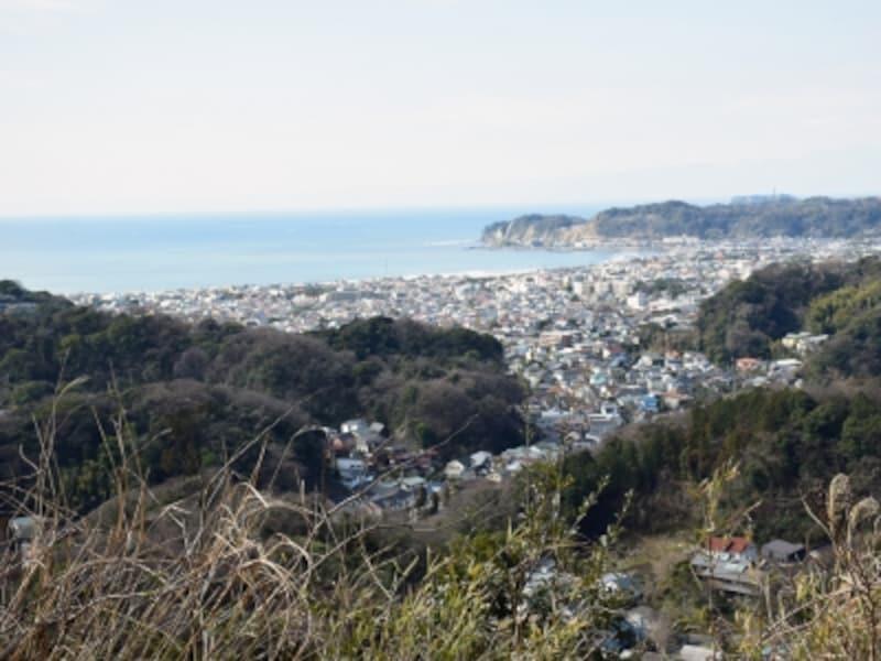 衣張山山頂からの眺め