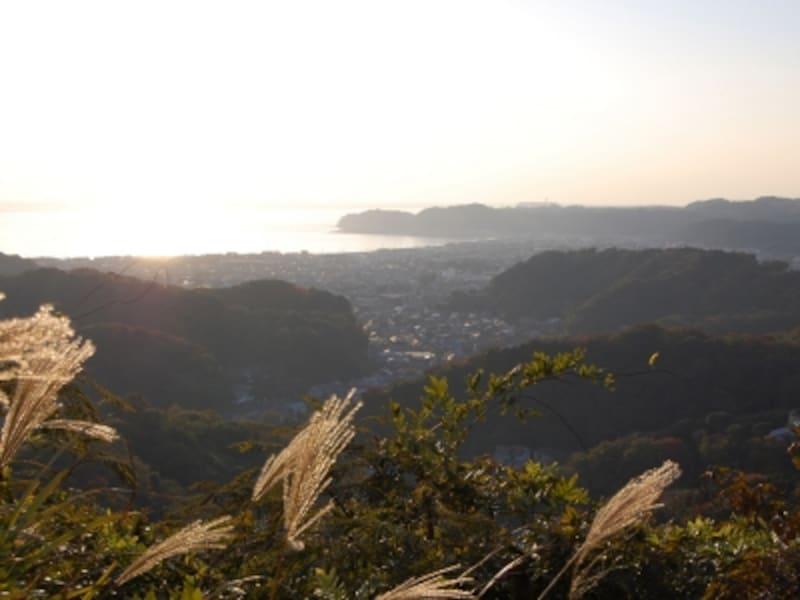 衣張山山頂からの眺望