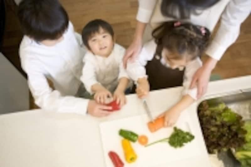 親子料理で子供の能力が向上