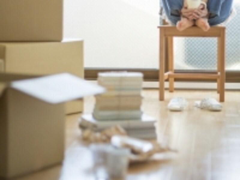 引越し荷物の梱包は