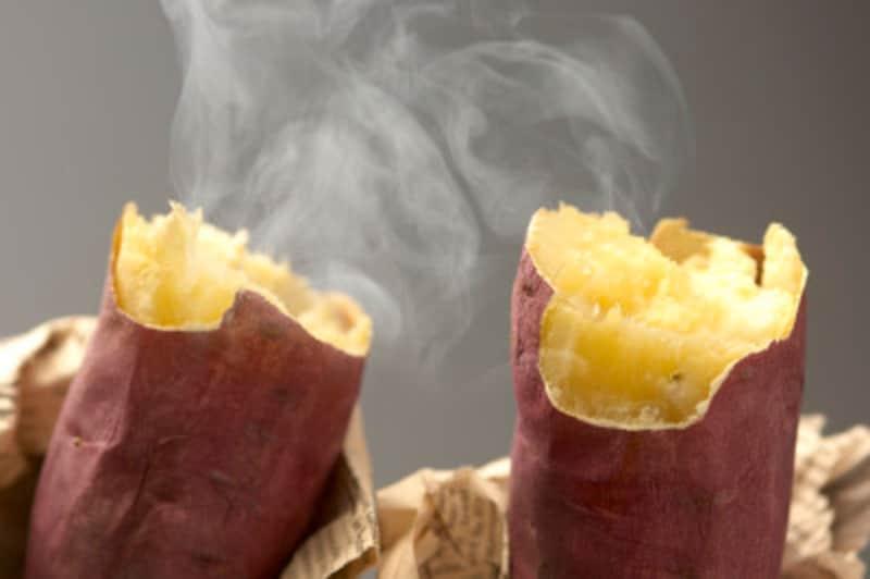 焼き芋の作り方