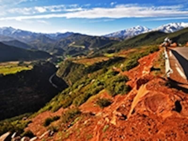 アトラス山脈の美しい景観