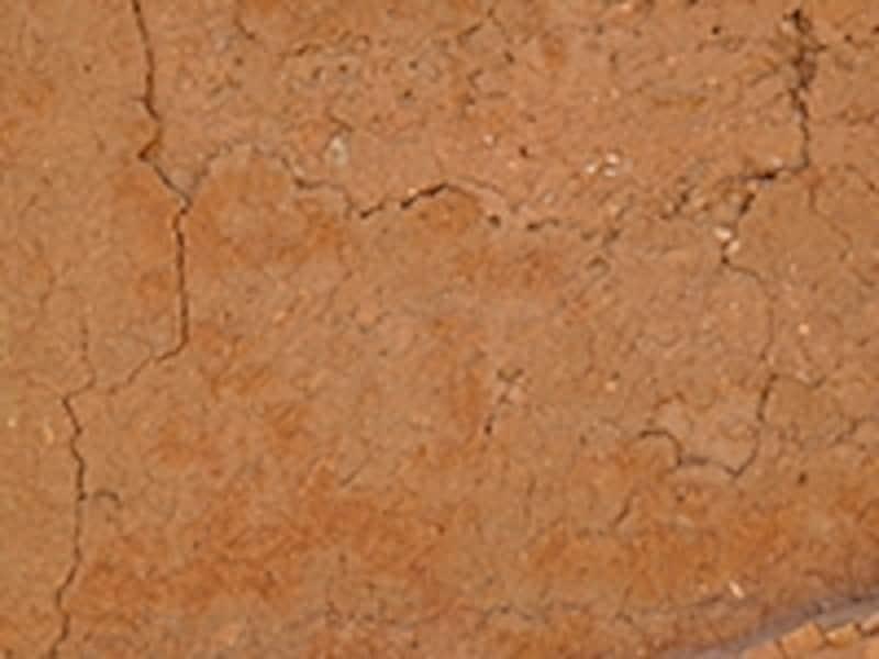 アドベの土壁