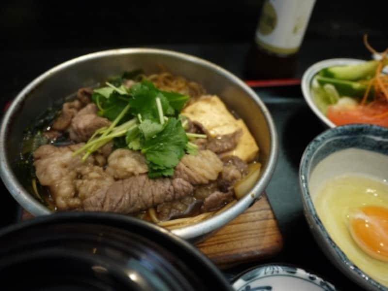すき焼き鍋定食(ランチ)