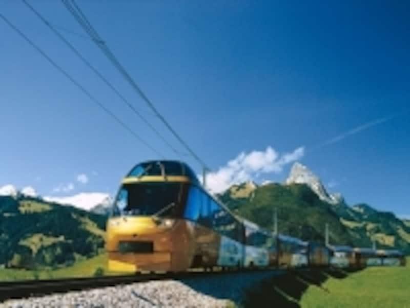 スイス列車イメージ