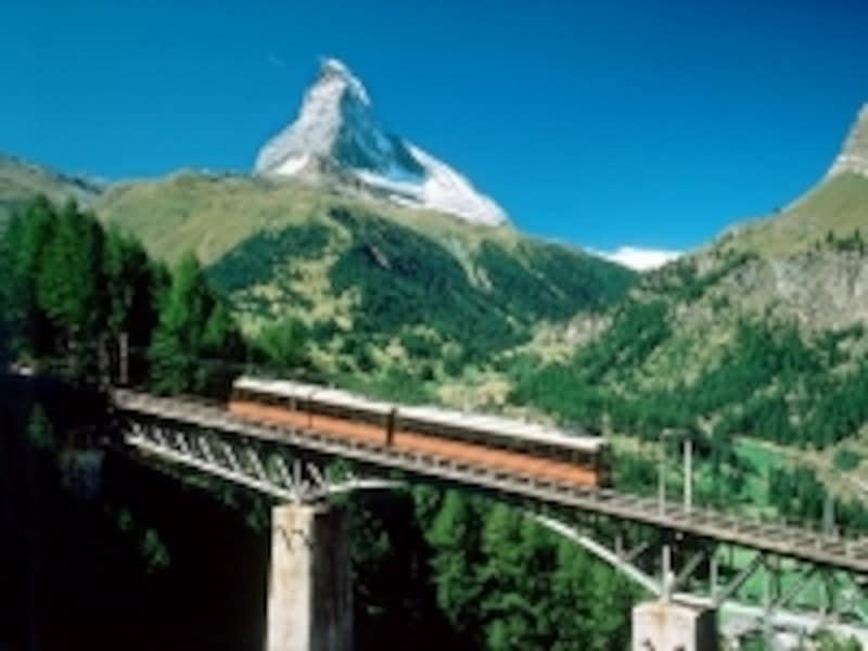 スイスの山岳鉄道