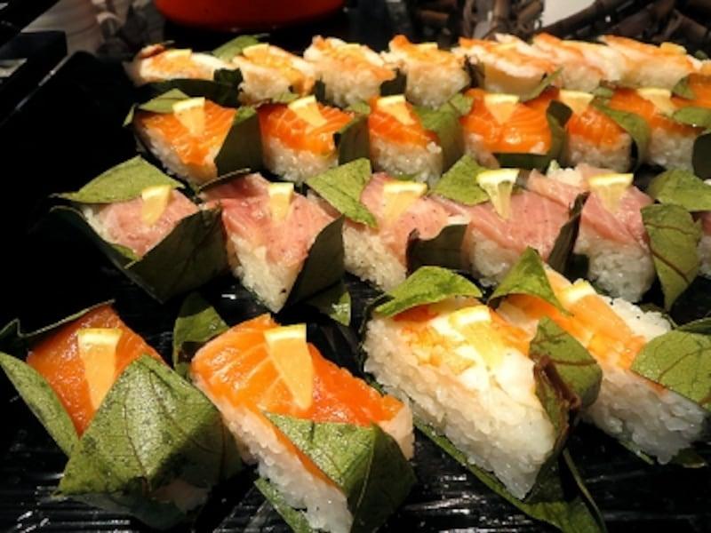 加賀伝統柿の葉寿司