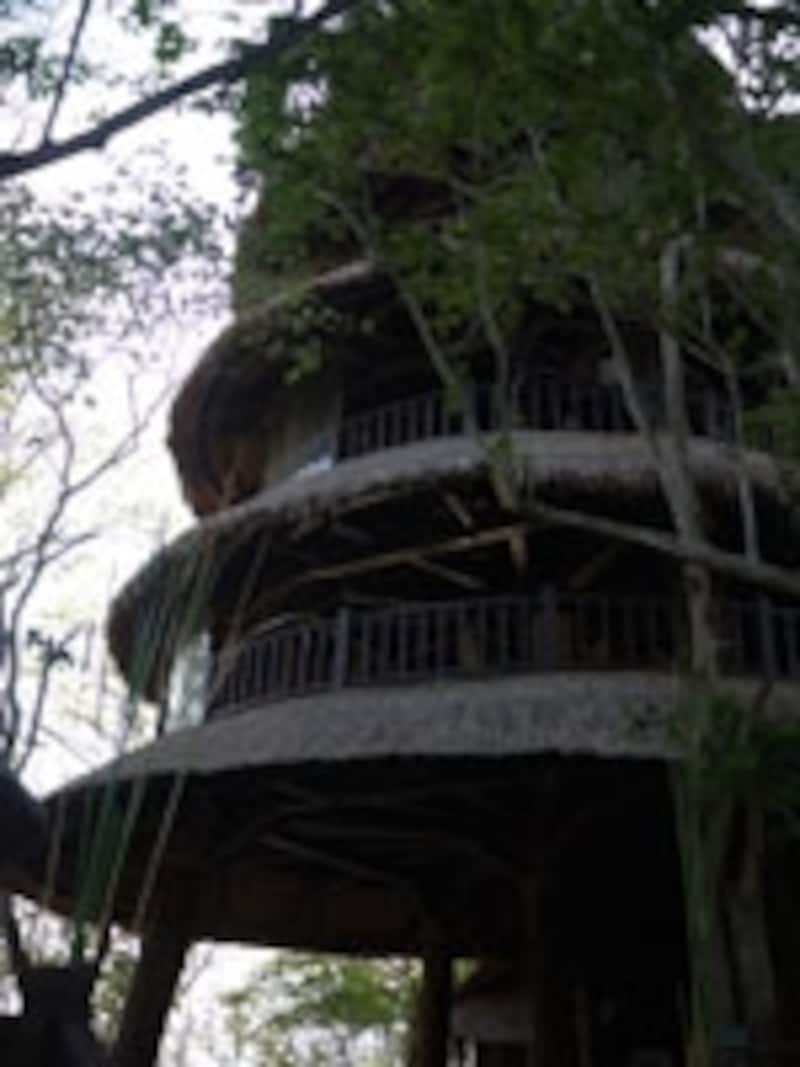 バリ・タワーの外観