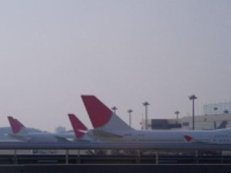 日本航空も毎日1便バンクーバー行きを運航