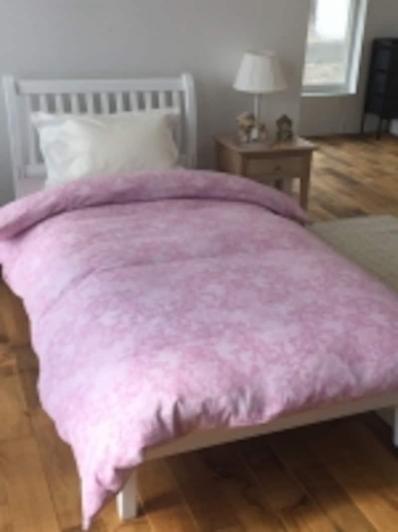 寝室は季節にあわせて衣替えするのが基本ですよ!