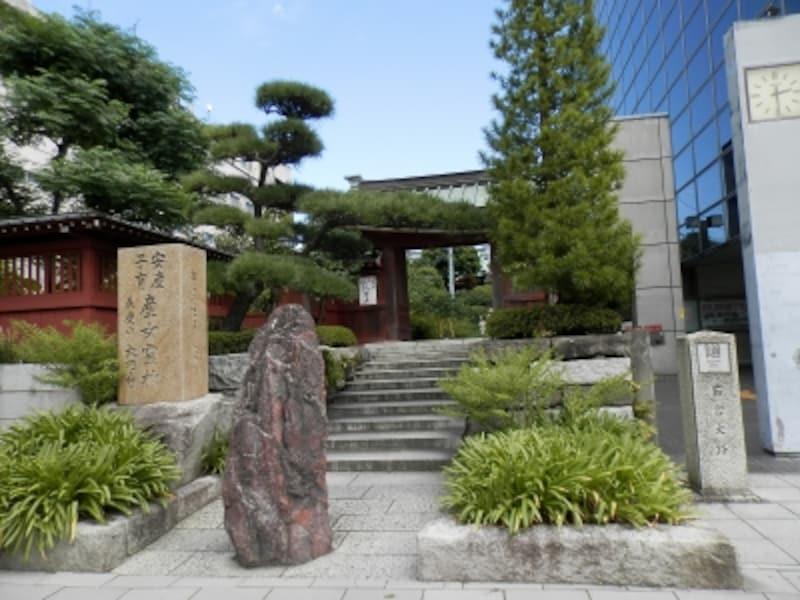 鎌倉駅近くの大巧寺