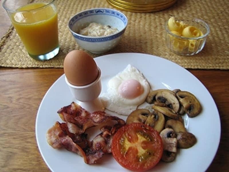 美味しい朝食もベッド&ブレックファーストの楽しみの一つ