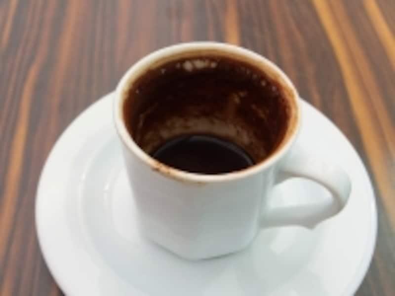 トルココーヒー飲み終わり