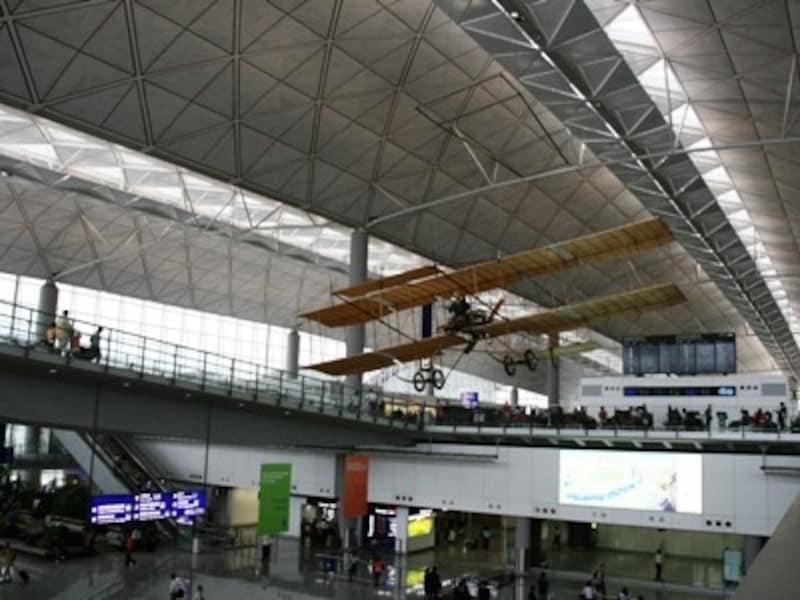 1911年に香港に初めて着陸した飛行機のレプリカ
