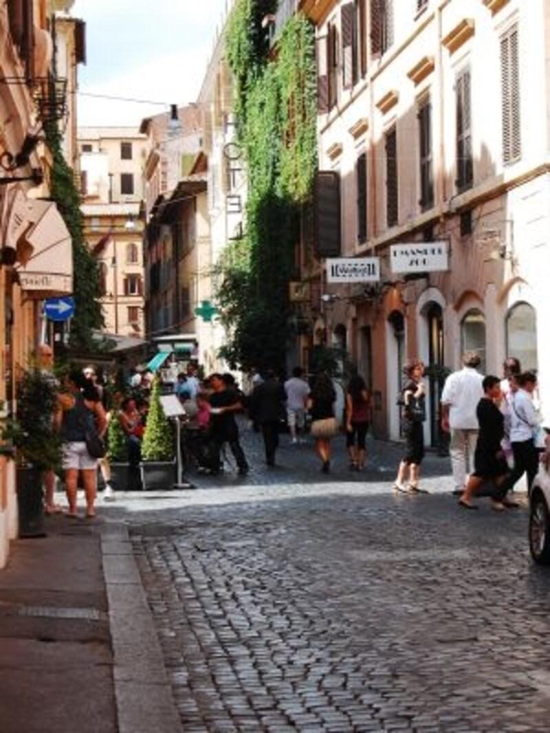 ローマやフィレンツェ、ベネチアは街そのものが世界遺産。訪れるだけで世界遺産めぐりになってしまいます