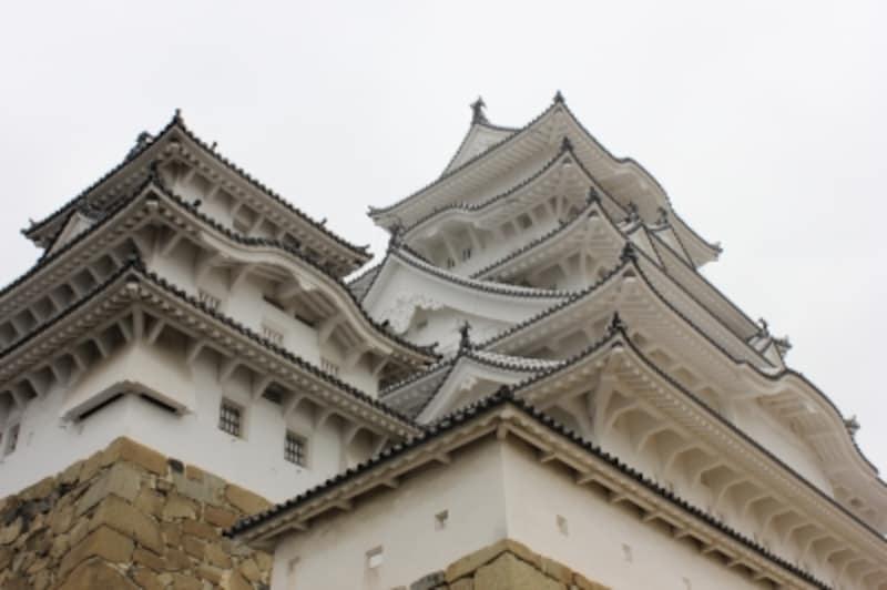 寄っても美しい姫路城