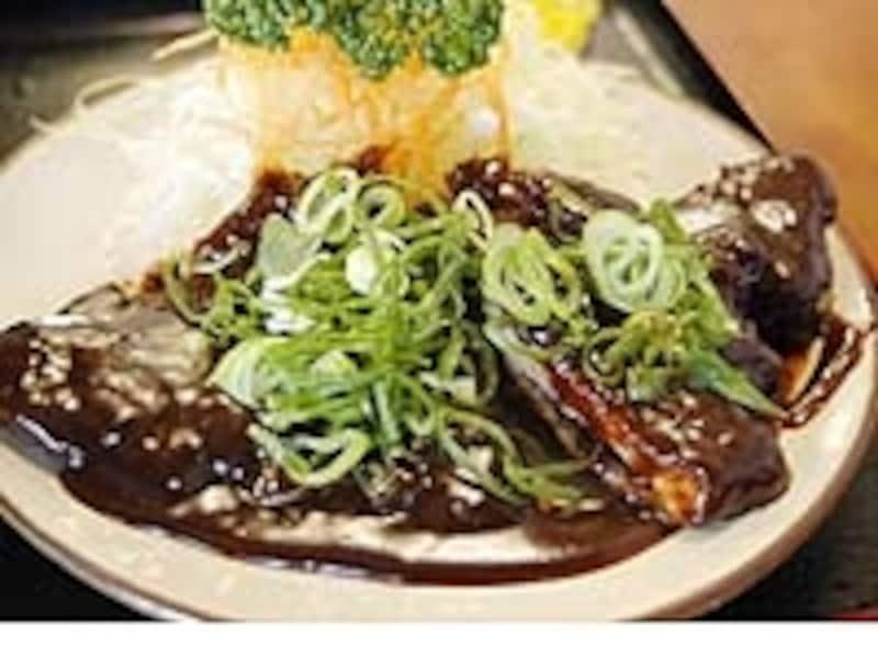 とん海の味噌カツ定食980円