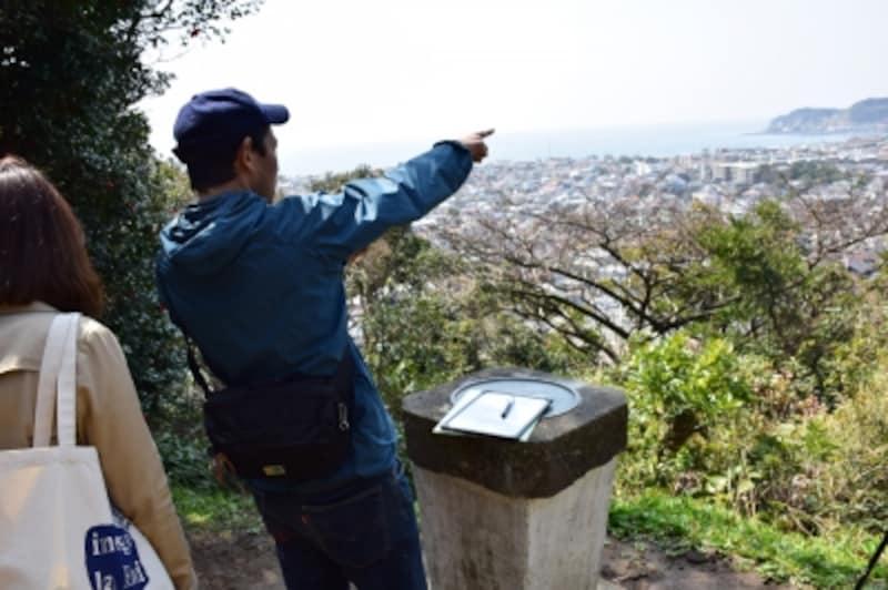 祇園山の見晴台