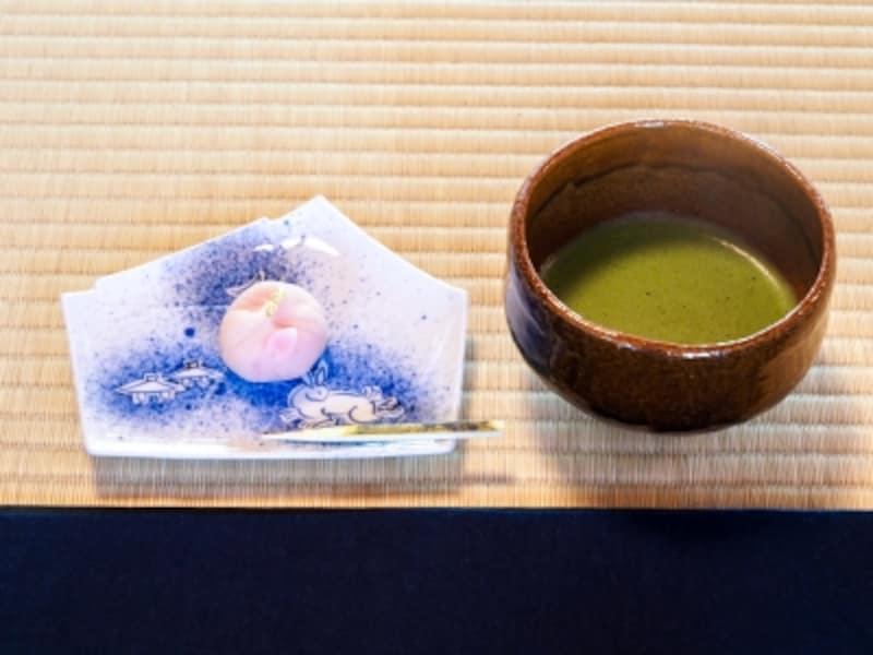 抹茶&時雨亭オリジナル生和菓子
