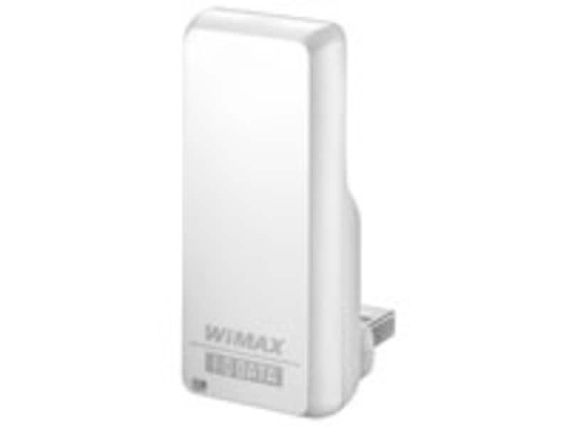 WiMAX通信用のUSB接続端末(WMX-U01、アイ・オー・データ製)