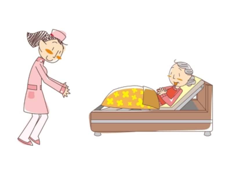 看護小規模多機能型居宅介護では、通所、短期入所、訪問介護、訪問看護の各サービスをまとめて受けることができます