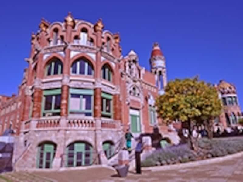 サン・パウ病院の聖レオポルド分館
