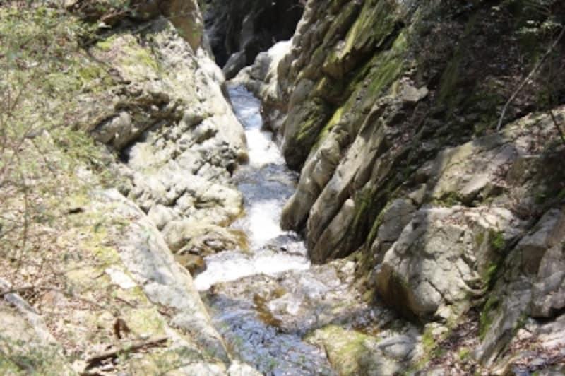 六甲の渓流