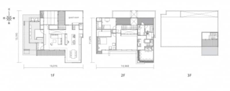 モデルハウス平面図