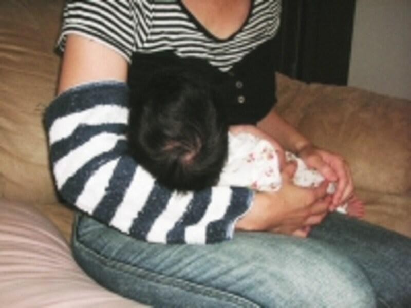ママの腕に腕カバーがおすすめです