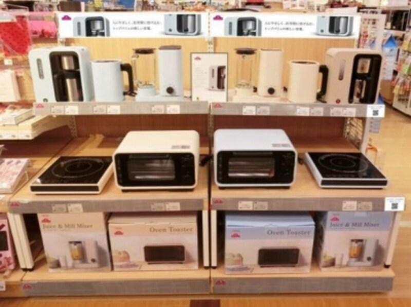 イオンの「新しい家電」はイオンや系列グループのマルエツなど全国360店舗で展開を開始しています。箱まで美しくデザインされているので、持って帰るのがうれしくなるはず