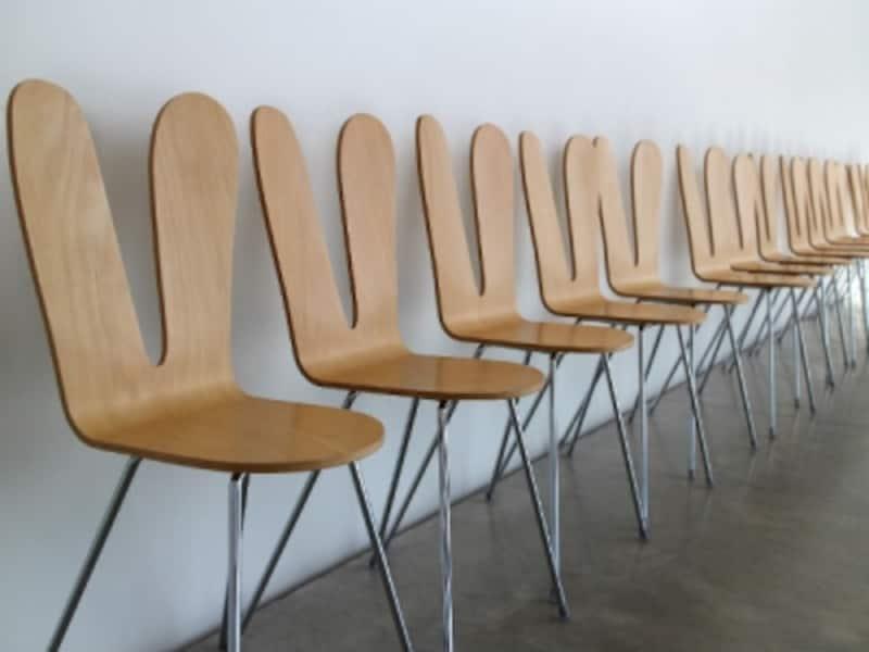 ウサギ椅子