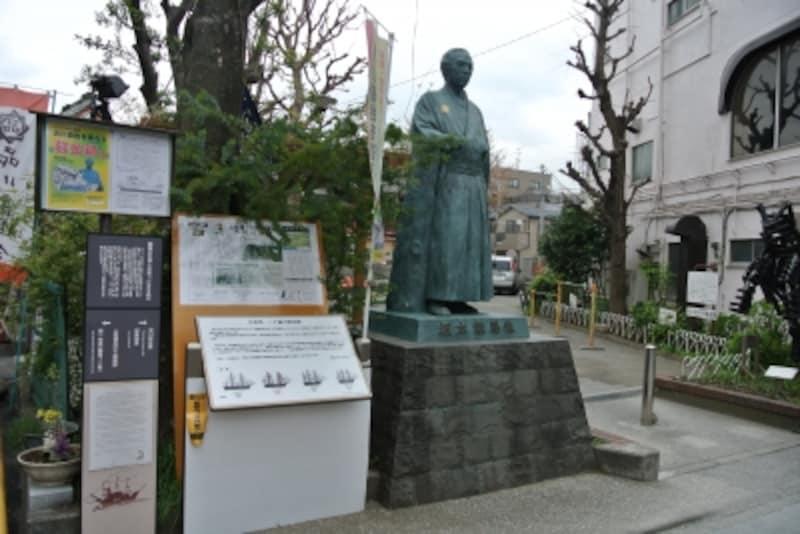 坂本竜馬の銅像