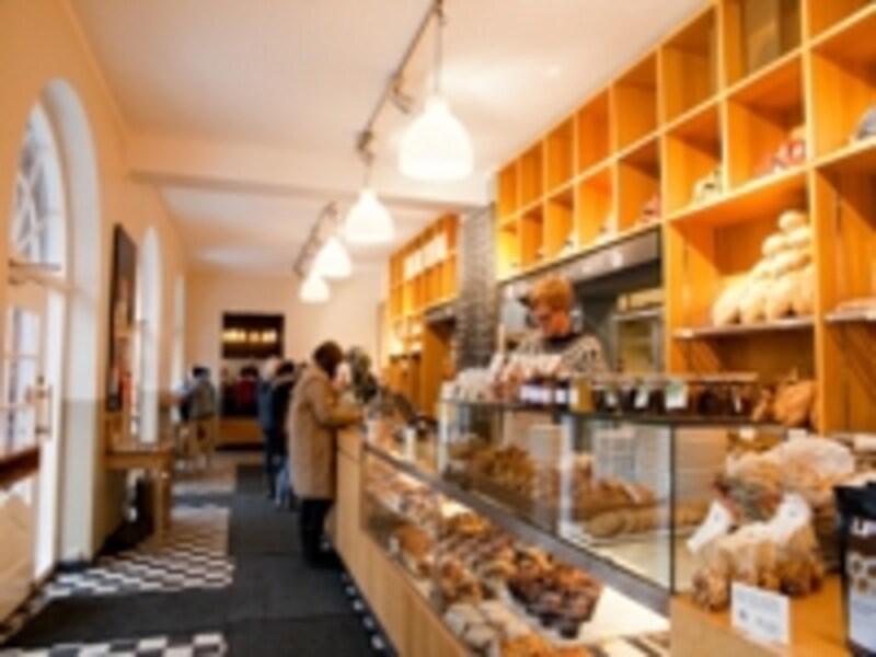 オスロのベーカリーカフェ