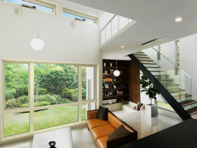 空間のつくりや使い方に合わせて窓計画を。スタイルだけでなく性能にも配慮したい。[エルスターS]undefined