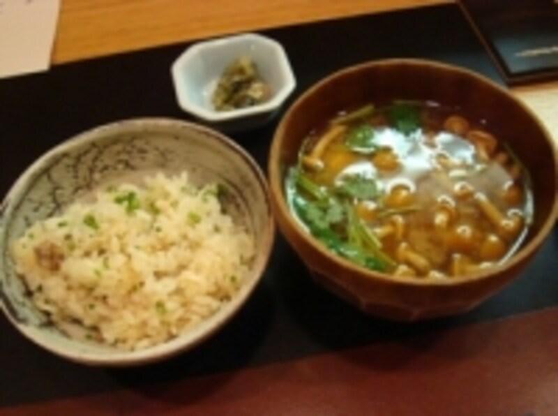 夜遅いときのメニュー、やはり和食が理想的です!