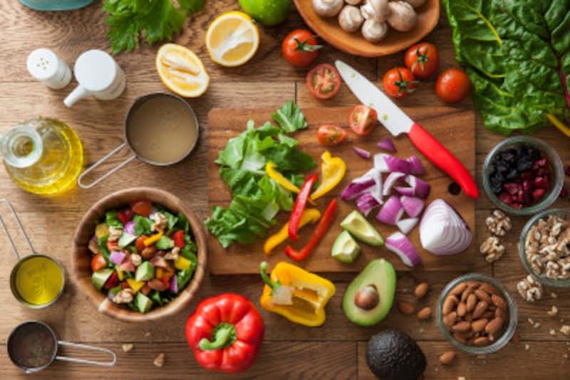 旬の野菜や果物は積極的に取り入れて