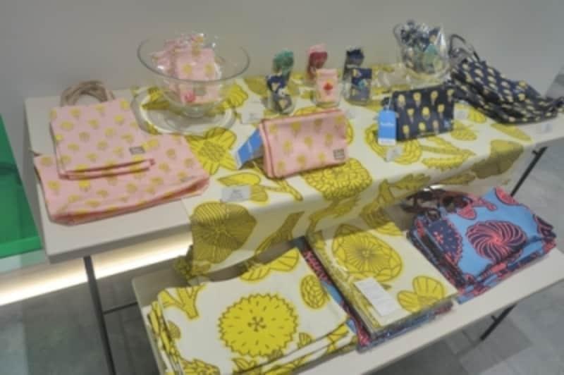鹿児島さんとコラボのオリジナル商品も各種販売されていました