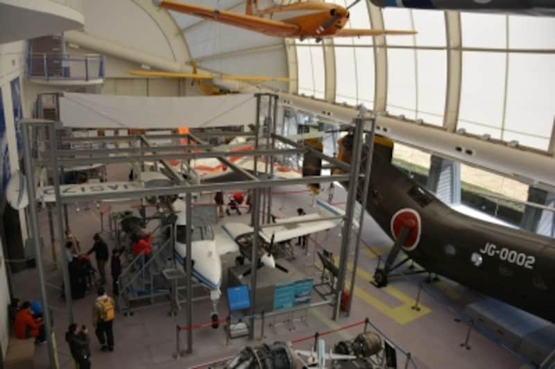 操縦室の中にも入ることができるセスナT310Q