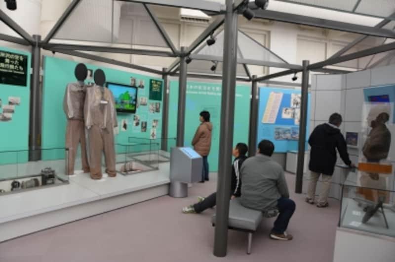 所沢飛行場と日本の航空技術の進歩が物語られる2Fメモリアルギャラリー