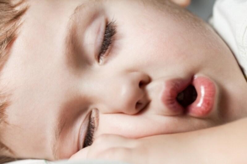 意外と多い口を開けて寝ている子ども
