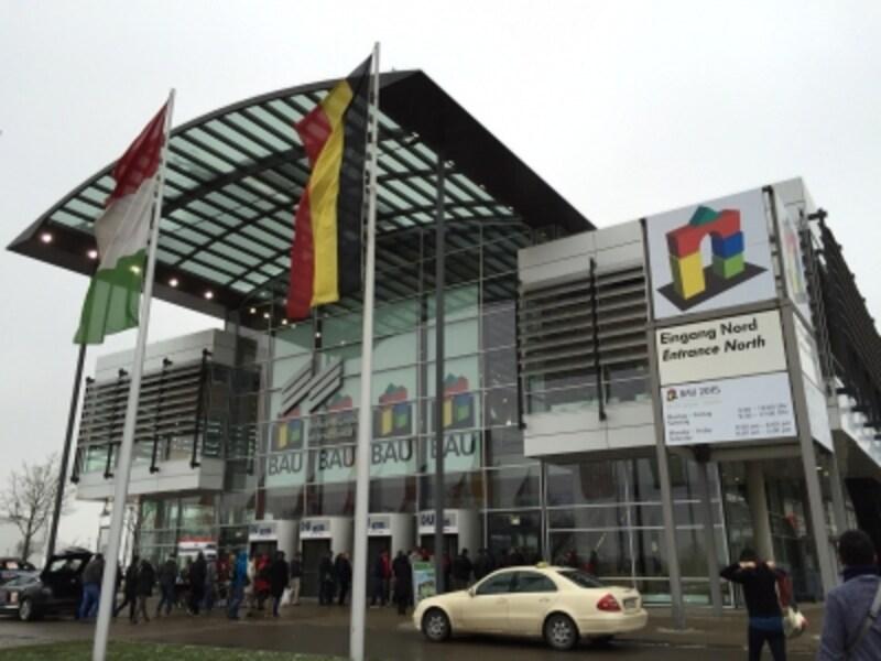 2015年undefinedドイツBAU会場の様子