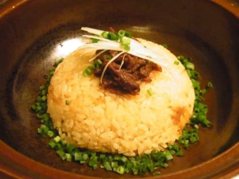 土鍋の矢澤御飯(1404円)