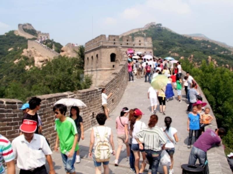 北京の気候「万里の長城」