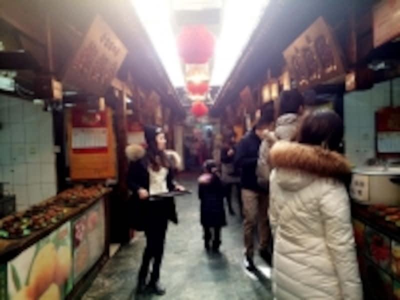北京の服装「九門小吃」