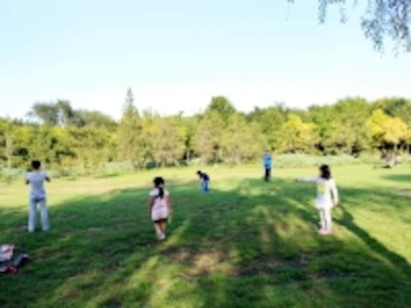 北京の服装「朝陽公園」